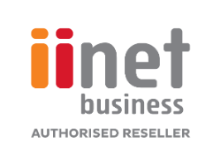 iiNet Business Authorised Reseller Logo small